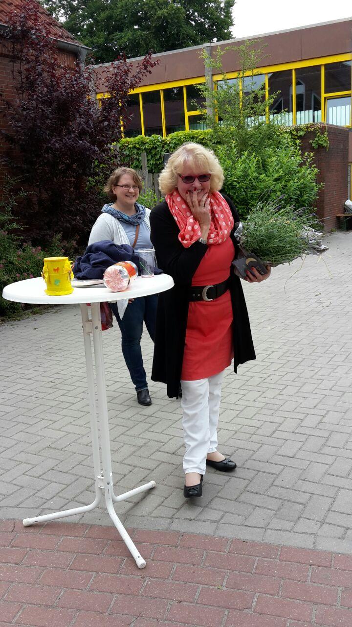 Die Vorsitzende Manuela Stadtlander-Lüschen begrüßte die Gäste. Quelle: Martina Aden