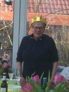 Königin Rosi die Erste.